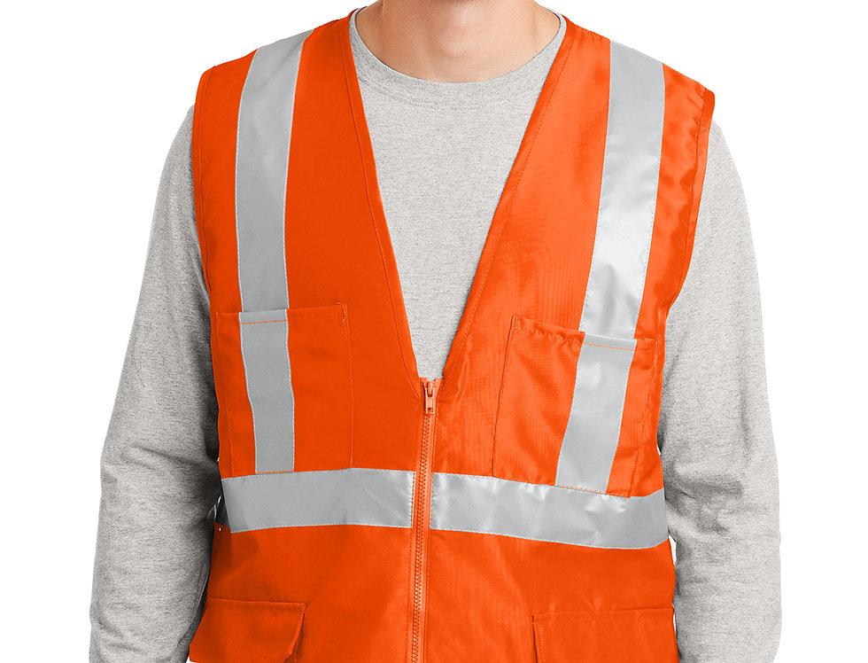 CornerStone® - ANSI 107 Class 2 Mesh Back Safety Vest CSV405