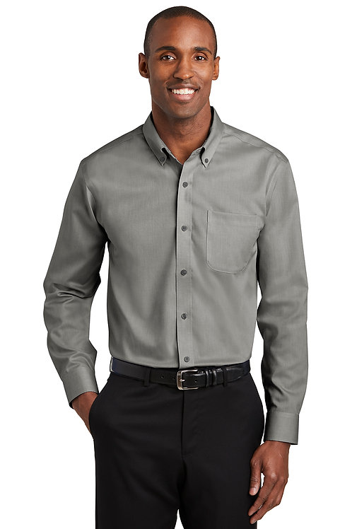 Red House® Tall Pinpoint Oxford Non-Iron Shirt TLRH240