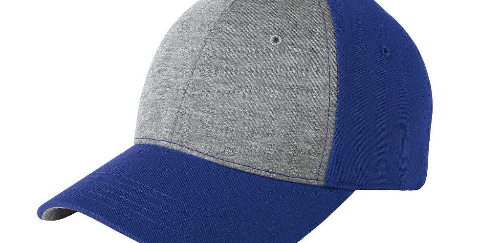 Sport-Tek Jersey Front Cap STC18