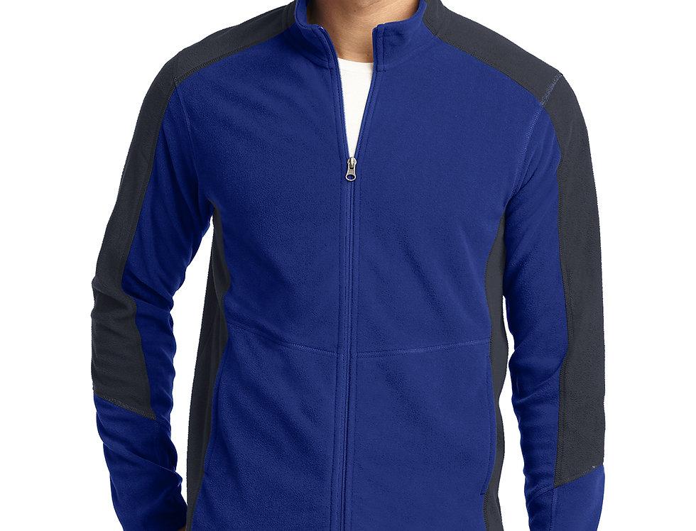 Port Authority® Colorblock Microfleece Jacket F230