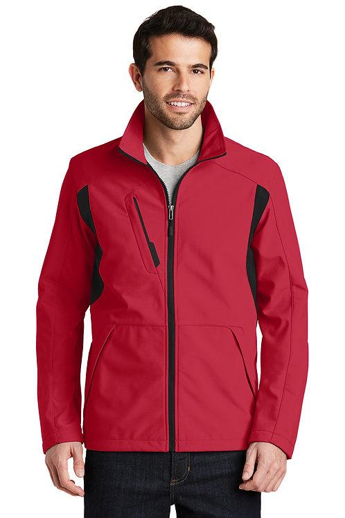 Port Authority® Back-Block Soft Shell Jacket J336