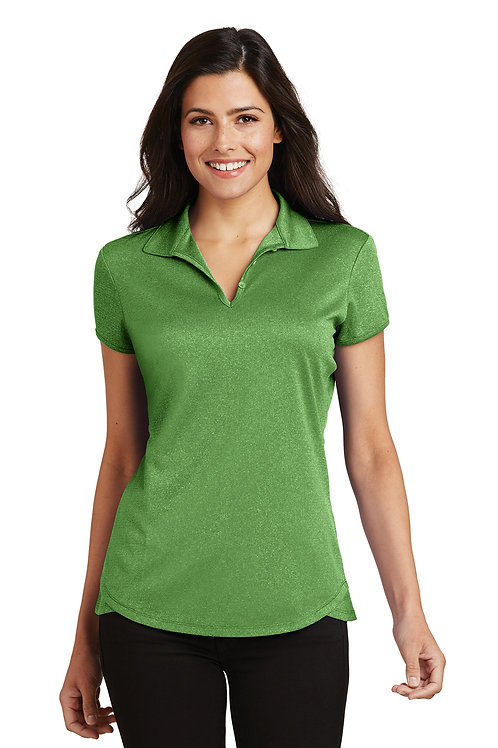 Port Authority Ladies Trace Heather Polo L576