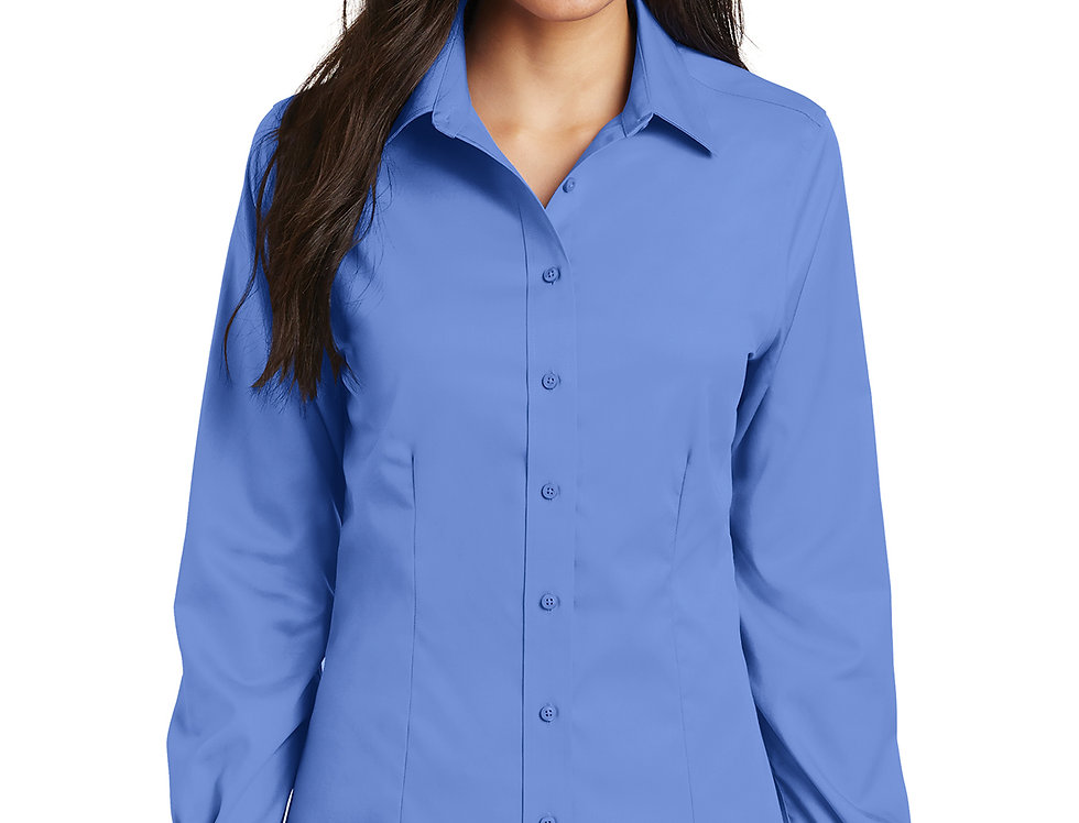 Port Authority Ladies Non-Iron Twill Shirt L638