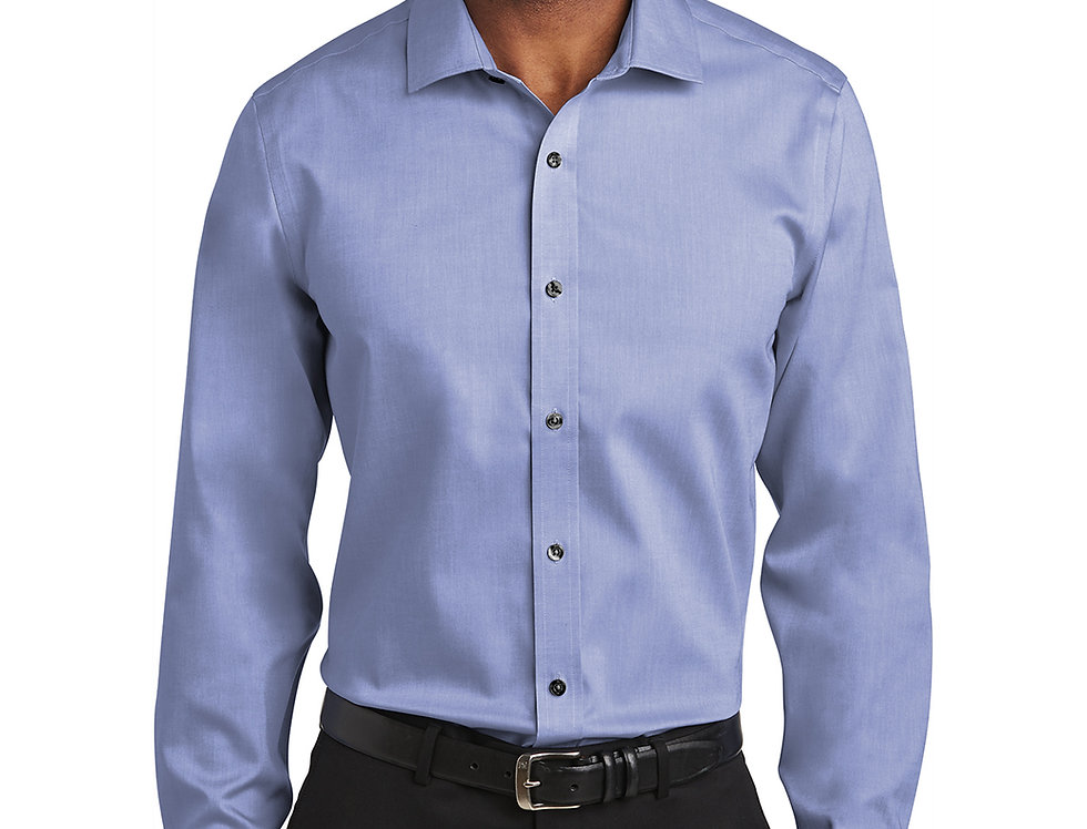 Red House® Slim Fit Pinpoint Oxford Non-Iron Shirt RH620