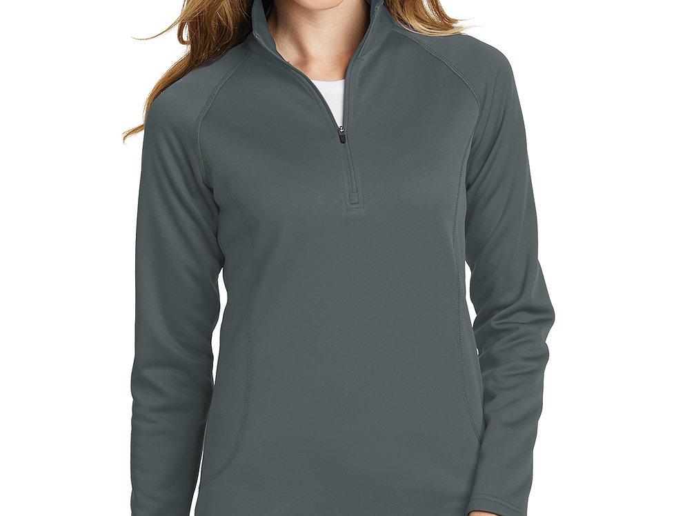 Eddie Bauer® Ladies Smooth Fleece Base Layer 1/2-Zip EB237