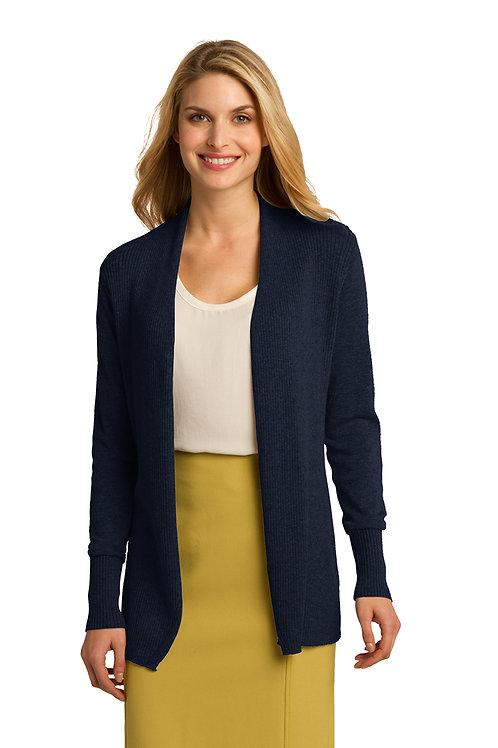 Port Authority® Ladies Open Front Cardigan Sweater LSW289