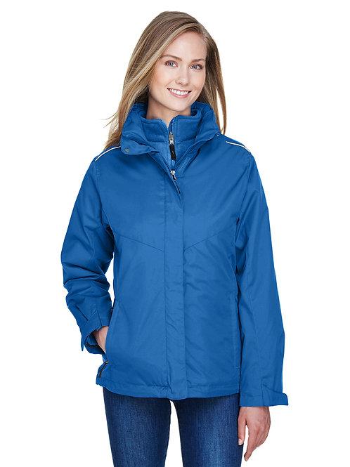 Core 365 Ladies' Region 3-in-1 Jacket with Fleece Liner 78205