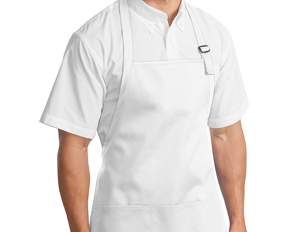 Port Authority® Medium-Length Apron with Pouch Pockets A510
