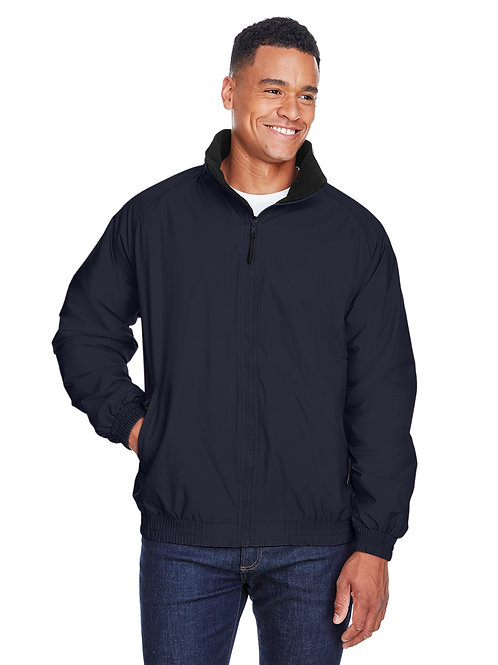 Harriton Adult Fleece-Lined Nylon Jacket M740
