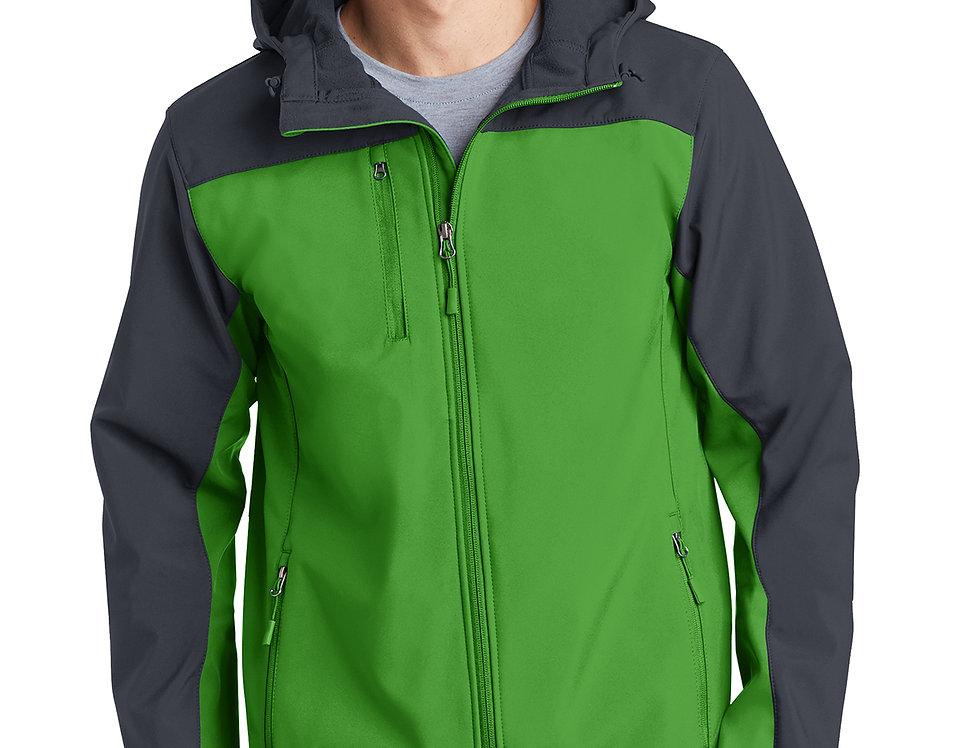 Port Authority® Hooded Core Soft Shell Jacket J335