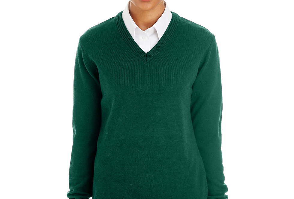 Harriton Ladies' Pilbloc™ V-Neck Sweater M420W