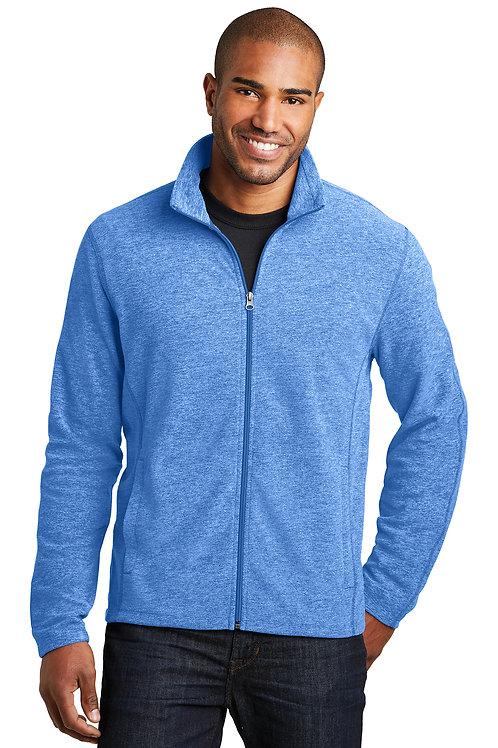 Port Authority® Heather Microfleece Full-Zip Jacket F235