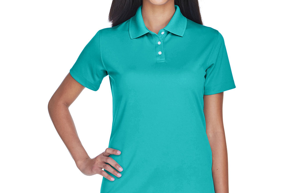 UltraClub Ladies' Cool & Dry Stain-Release Performance Polo 8445L