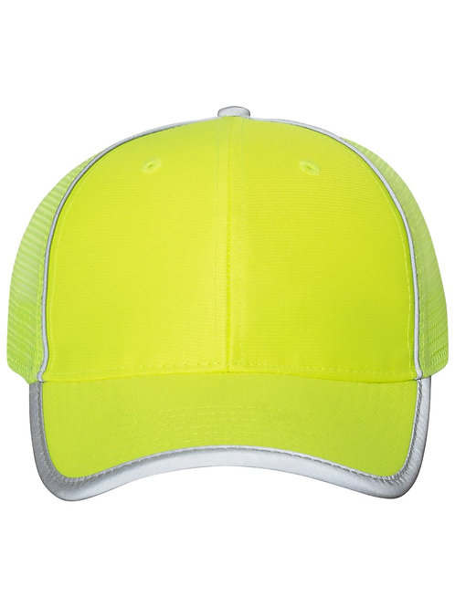 Outdoor Cap - Safety Mesh-Back Cap - SAF300M