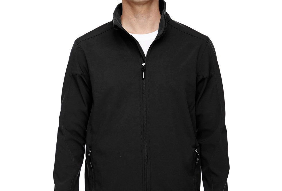 Core 365 Men's Tall Cruise Two-Layer Fleece Bonded Soft Shell Jacket 88184T