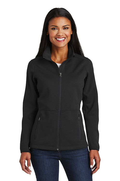 Port Authority® Ladies Pique Fleece Jacket L222