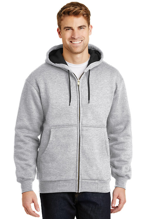 CornerStone® - Heavyweight Full-Zip Hooded Sweatshirt with Thermal Lining CS620
