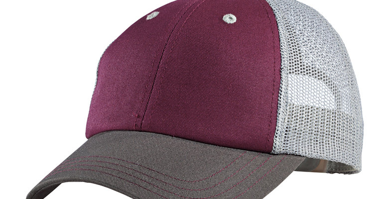 District Tri-Tone Mesh Back Cap DT616