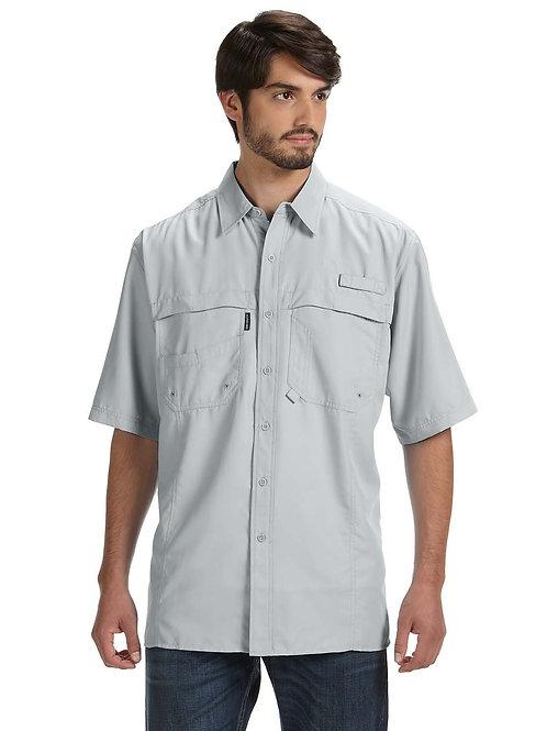Dri Duck Men's 100% Polyester Short-Sleeve Fishing Shirt DD4406