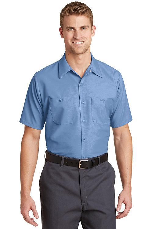 Red Kap® Long Size. Short Sleeve Industrial Work Shirt SP24LONG
