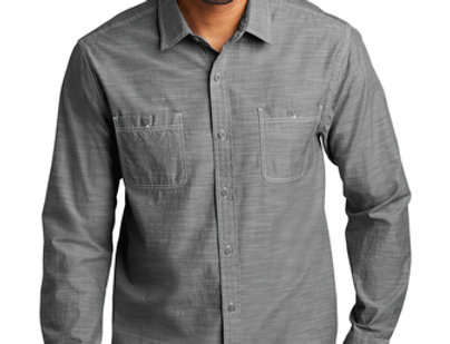 Port Authority Slub Chambray Shirt W380