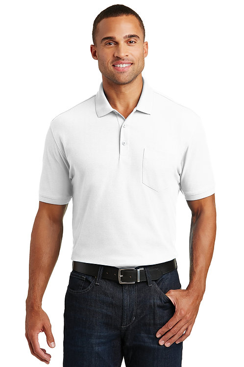 Port Authority Core Classic Pique Pocket Polo K100P