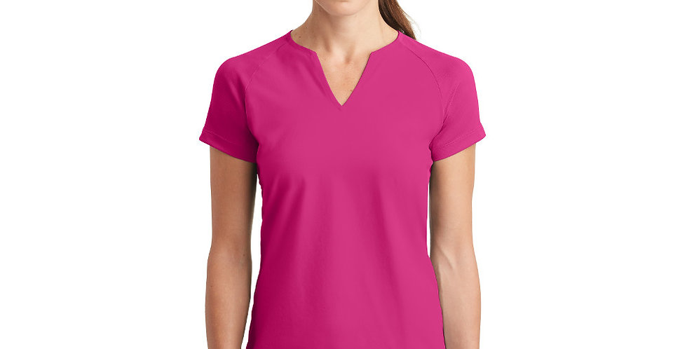 Nike Ladies Dri-FIT Stretch Woven V-Neck Top 838960