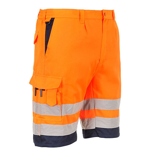 Hi-Vis Poly-cotton Shorts E043