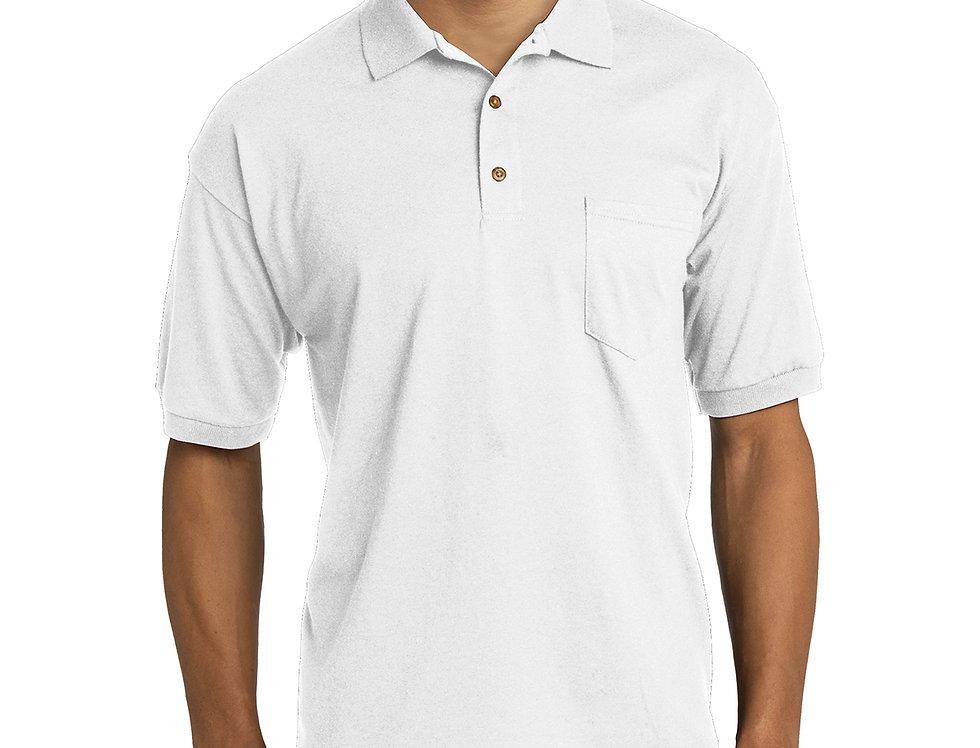 Gildan DryBlend 6-Ounce Jersey Knit Sport Shirt with Pocket 8900