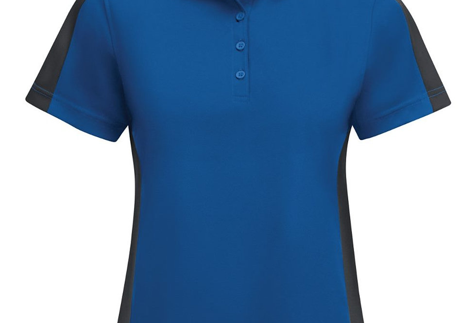 Red Kap - Women's Short Sleeve Performance Knit Two-Tone Polo - SK53