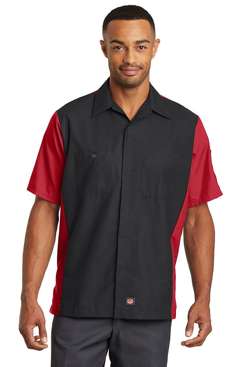 Red Kap® Short Sleeve Ripstop Crew Shirt SY20