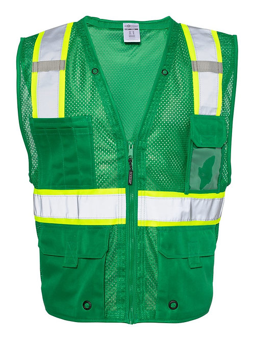 Kishigo - Mesh Enhanced Visibility Multi-Pocket Vest - B100-107