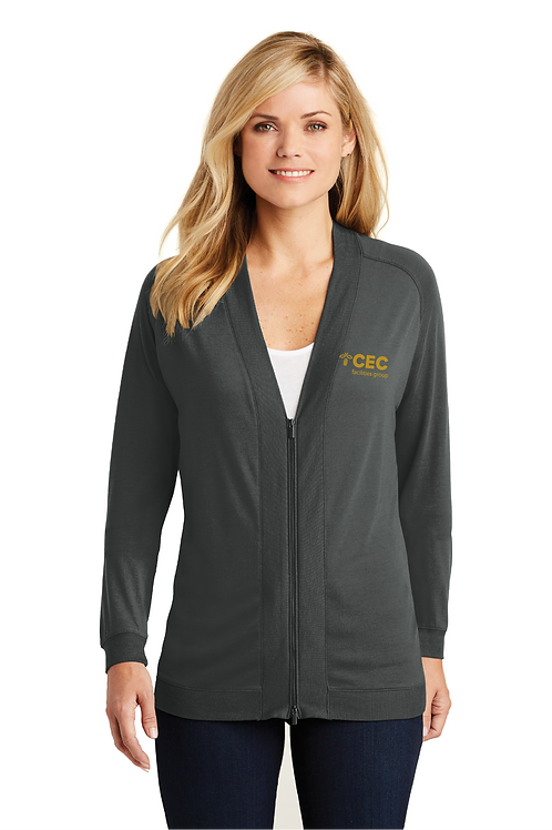 Port Authority® Ladies Concept Bomber Cardigan LK5431