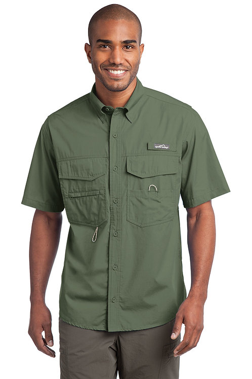 Eddie Bauer Short Sleeve Fishing Shirt EB608