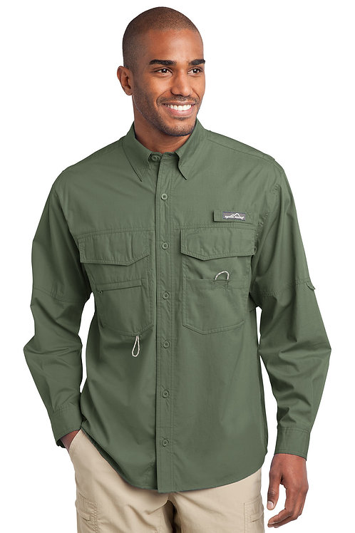 Eddie Bauer Long Sleeve Fishing Shirt EB606