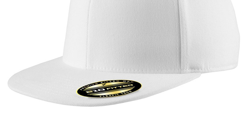 Port Authority Flexfit Flat Bill Cap C808