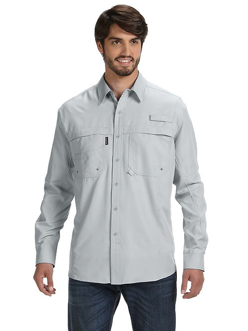 Dri Duck Men's 100% polyester Long-Sleeve Fishing Shirt DD4405