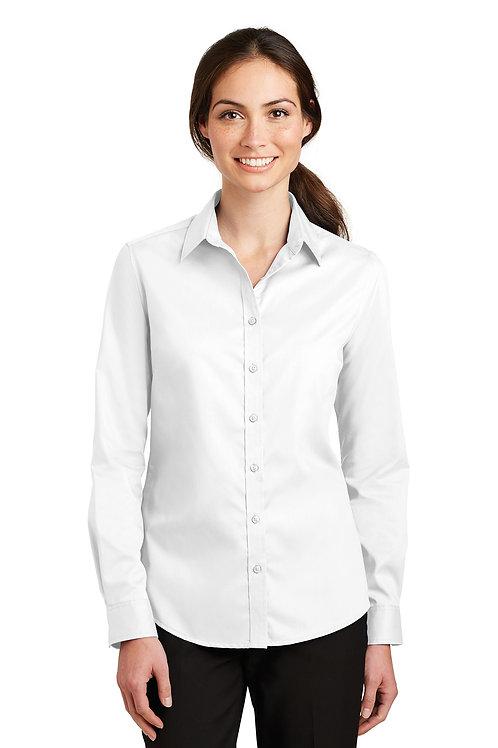 Port Authority Ladies SuperPro Twill Shirt L663