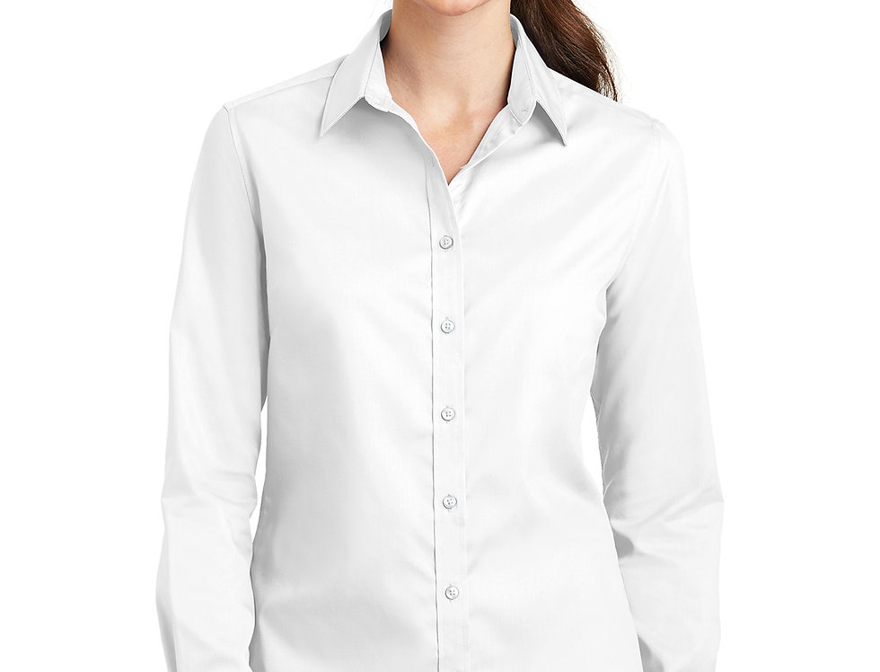 Port Authority Ladies SuperPro Twill Shirt L663