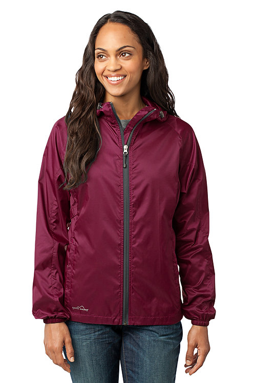 Eddie Bauer® - Ladies Packable Wind Jacket EB501