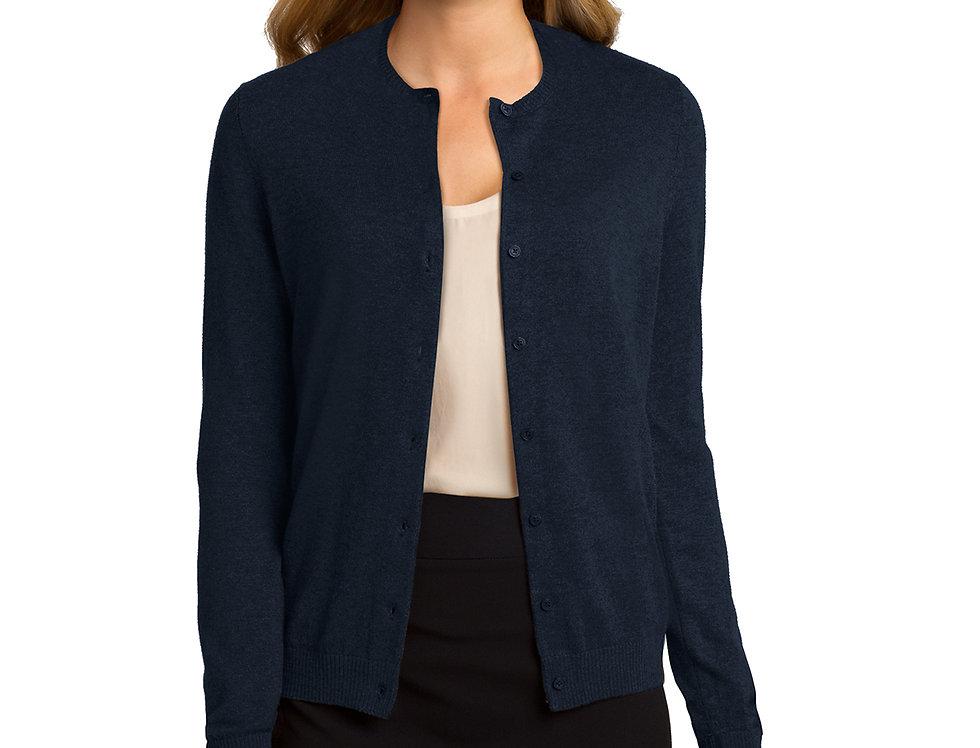 Port Authority® Ladies Cardigan Sweater LSW287