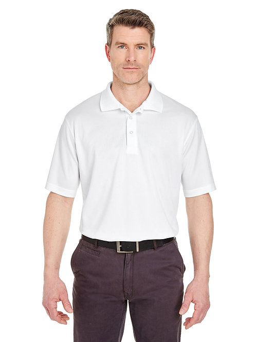 UltraClub Men's Tall Cool & Dry Sport Polo 8405T