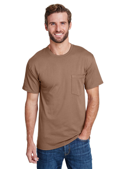 Hanes Adult Workwear Pocket T-Shirt W110
