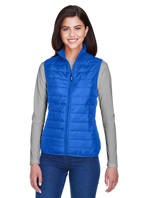 Core 365 Ladies' Prevail Packable Puffer Vest CE702W
