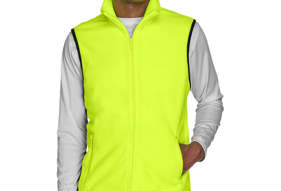 Harriton Adult 8 oz. Fleece Vest M985