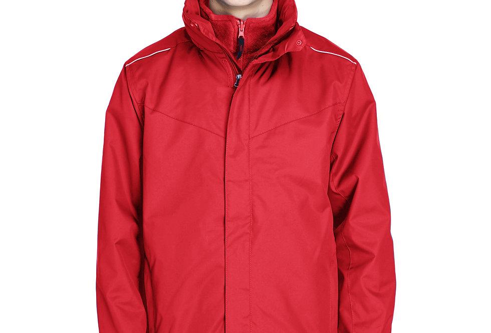 Ash City - Core 365 Men's Region 3-in-1 Jacket with Fleece Liner  88205