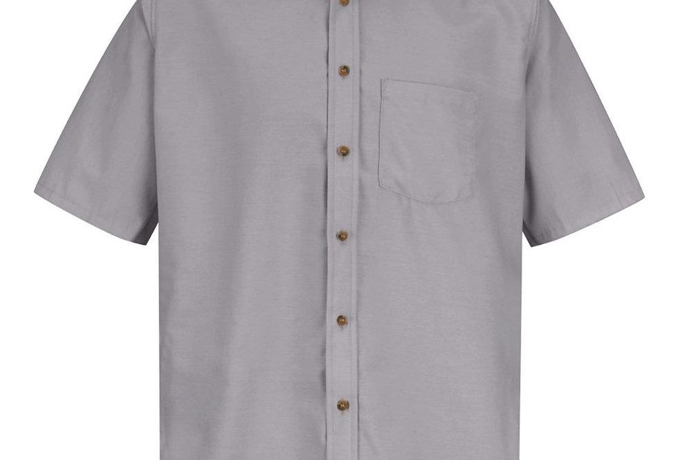 Red Kap - Poplin Short Sleeve Dress Shirt - Long Sizes - SP80L