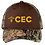 Thumbnail: Port Authority® Camo Cap with Contrast Front Panel C807