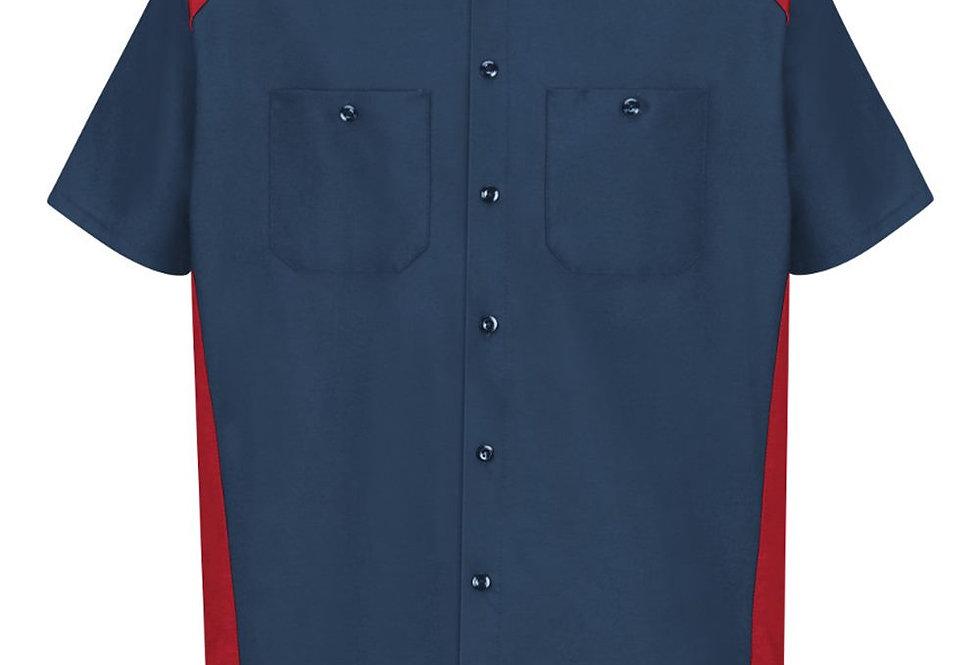Red Kap - Short Sleeve Motorsports Shirt Long Sizes - SP28L