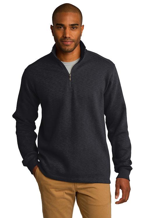 Port Authority® Slub Fleece 1/4-Zip Pullover F295